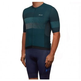 2019 MAAP Aether Dark Pine Cycling Jersey And Bib Shorts Set