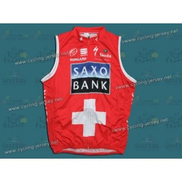 2010 Saxo Bank Swiss Champion Cycling Vest