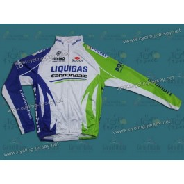 2011 Liquigas Team Thermal Cycling Long Sleeve Jersey