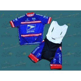 USPS Team Cycling Jersey and Bib Shorts Set