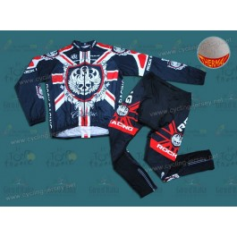 Rоck Rаcing London Thermal Team Cycling Long Sleeve Jersey And Pants Set