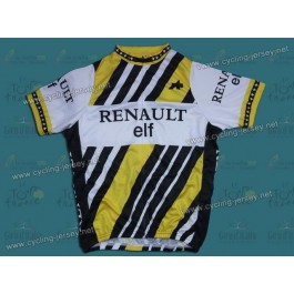 Throwback RENAULT elf TEAM Cycling Jersey