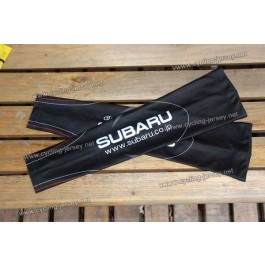 Black Subaru Cycling Arm Warmer