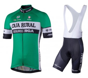 2018 Caja Cycling Jersey And Bib Shorts Set