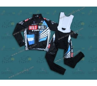 2013 Trek WildWolf ARG Champion Thermal Long Cycling Jersey And Bib Pants
