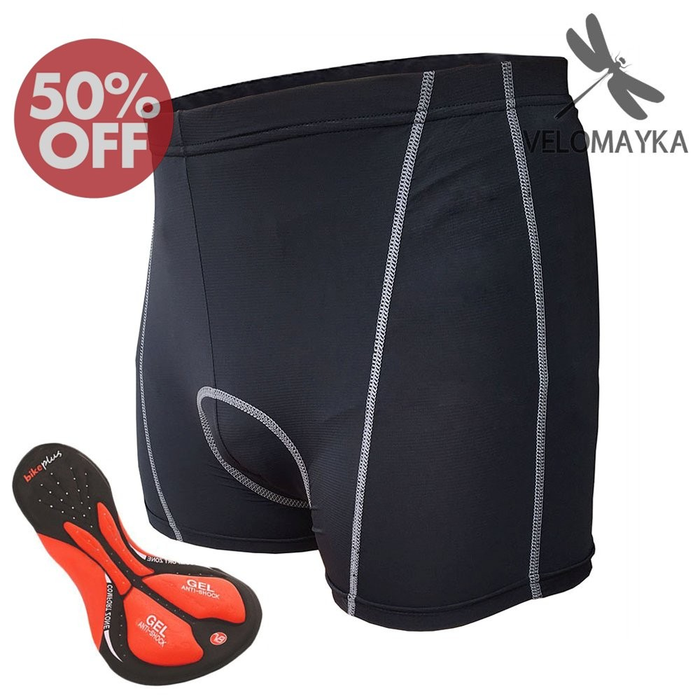 Cycling Underwear Velomayka 3D Padded GEL Riding cycling Shorts Padded Pants
