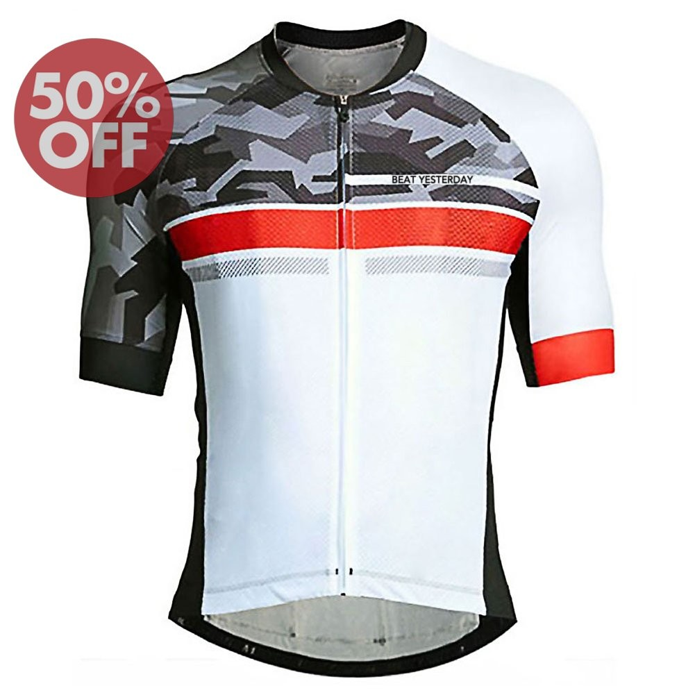 Discount  2017 VelomayKa Best Yesterday Dragonfly Trek Black/White Cycling jersey