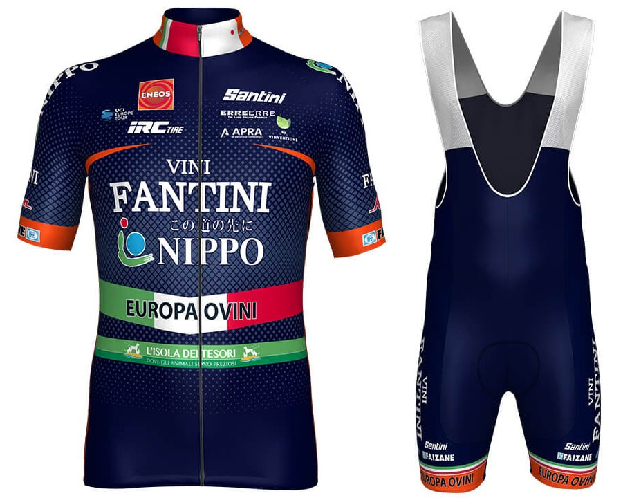 The most popular and cheap cycling Bib sets - 2018 Nippo-Vini ... fc2d82f21