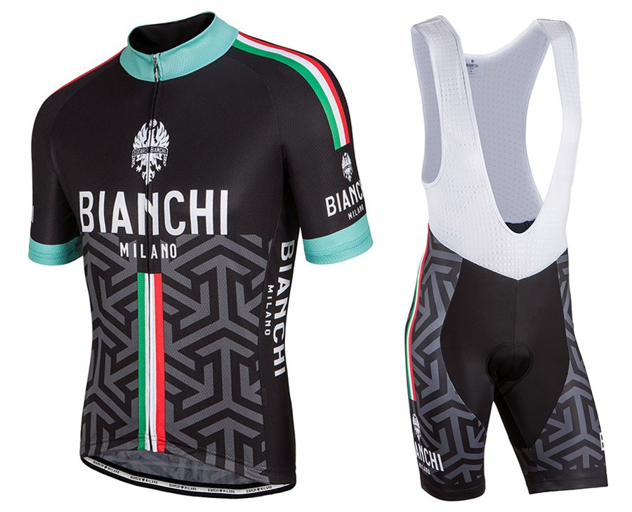 a67f31c78c 2017 Bianchi Milano Pontesei Cycling Jersey And Bib Shorts Set