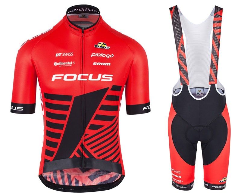 The most popular and cheap cycling Bib sets - 2017 Focus XC Team Red ... 19728d2e9