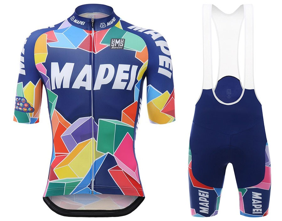 040abba1e The most popular and cheap cycling Bib sets - 2017 Mapei Cycling ...