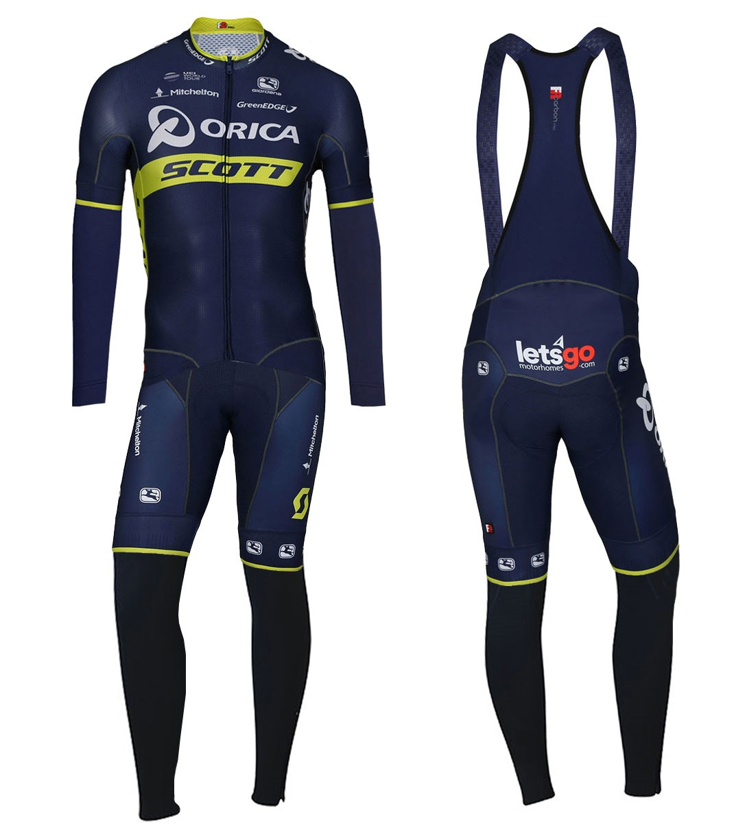 The most popular and cheap long cycling set - 2017 Team Orica Scott ... 49a9a165a