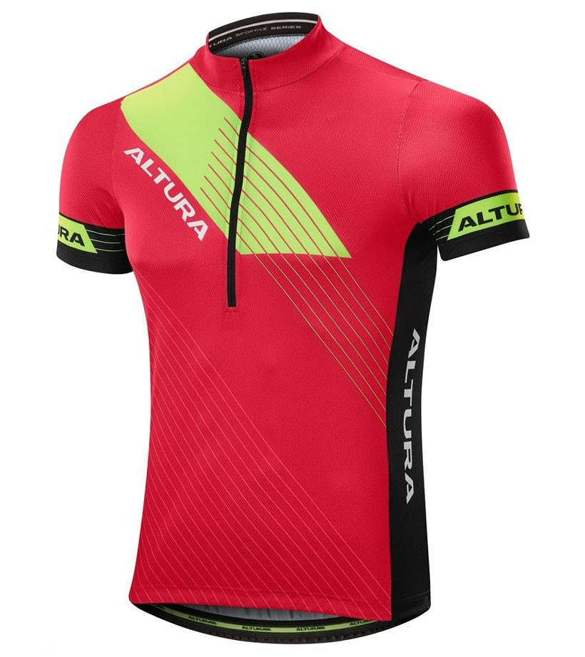 2017 Altura Sportive Red-Yellow Cycling Jersey