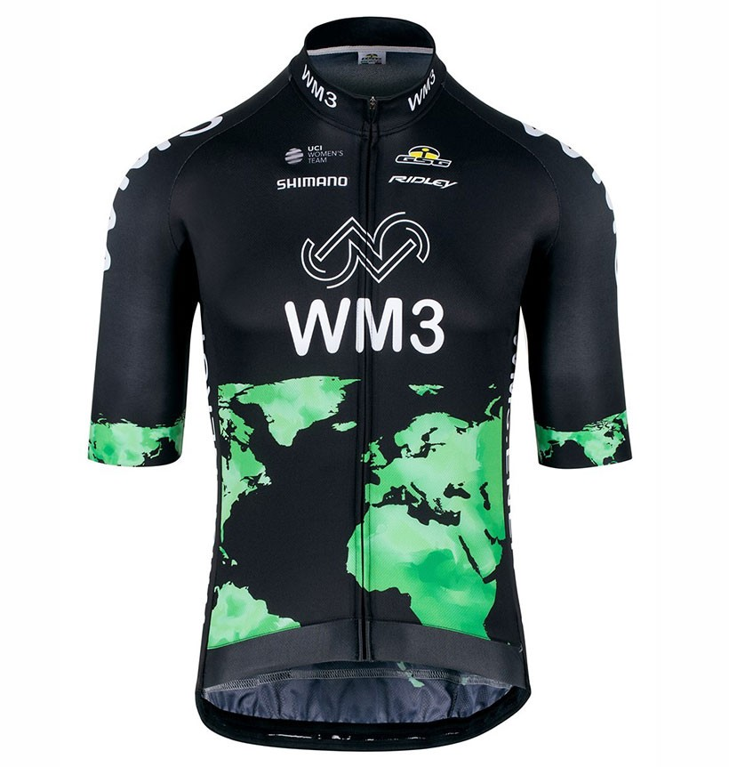 d279a0604 The most popular and cheap cycling jersey - 2017 Team WM3 Black ...