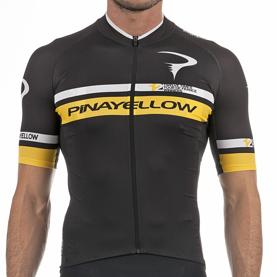 The most popular and cheap cycling jersey - 2017 Pinarello 12th TDF ... 4ab0af464