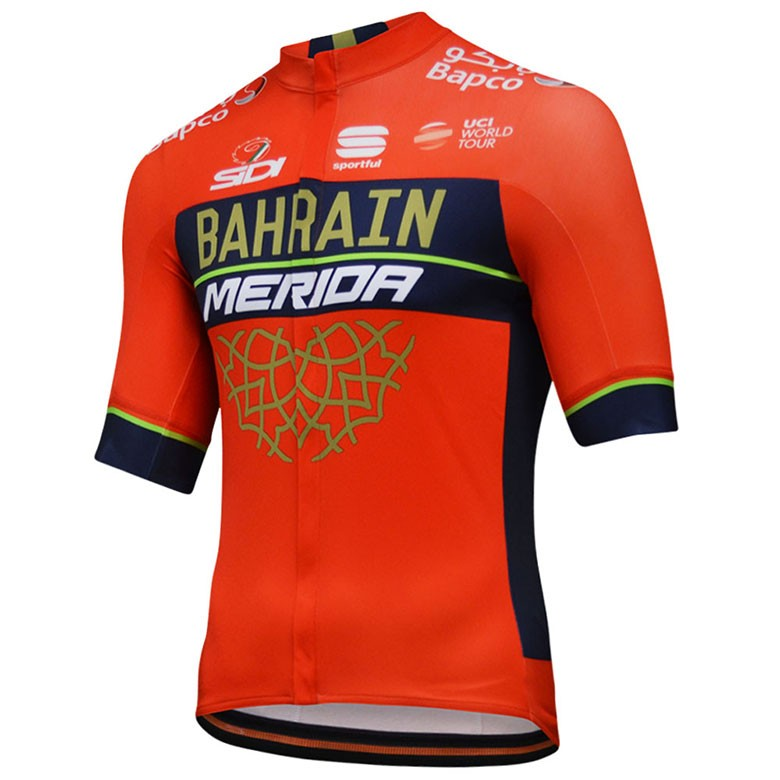 The most popular and cheap cycling jersey - 2018 Team Merida Bahrain ... 280d95a15