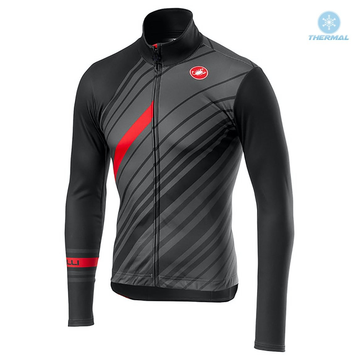 The most popular and cheap thermal cycling jersey - 2018 Cаstelli ... 7b39e201a