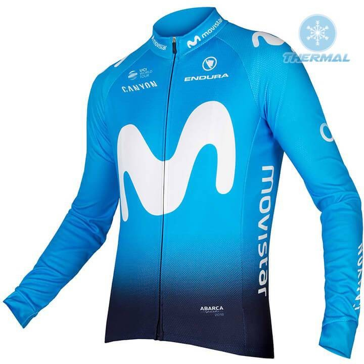 The most popular and cheap thermal cycling jersey - 2018 Movistar ... c282a0c1a