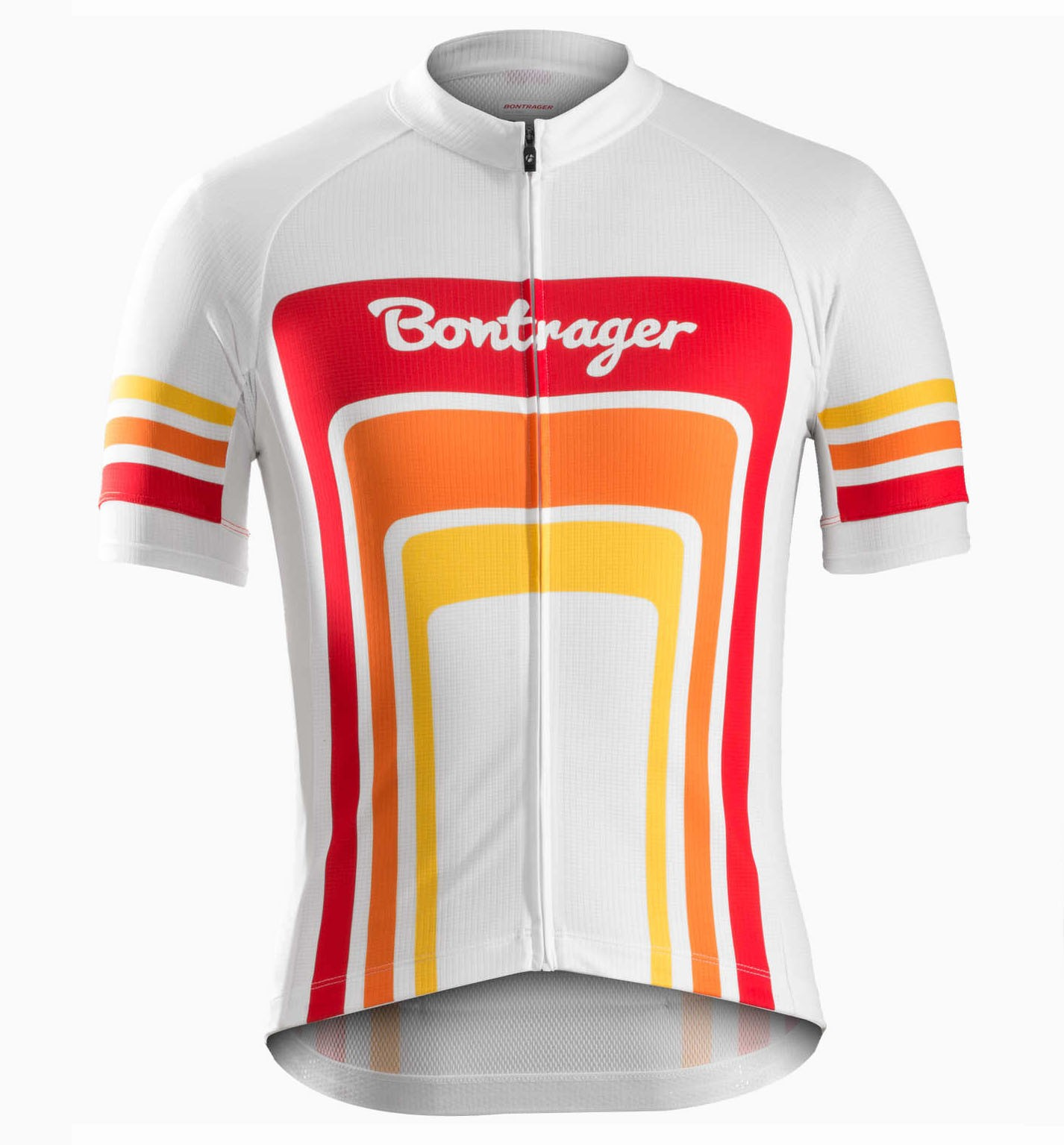 2016 Bontrager Santa Cruz 1980 White And Red Cycling Jersey 8ffe6be10