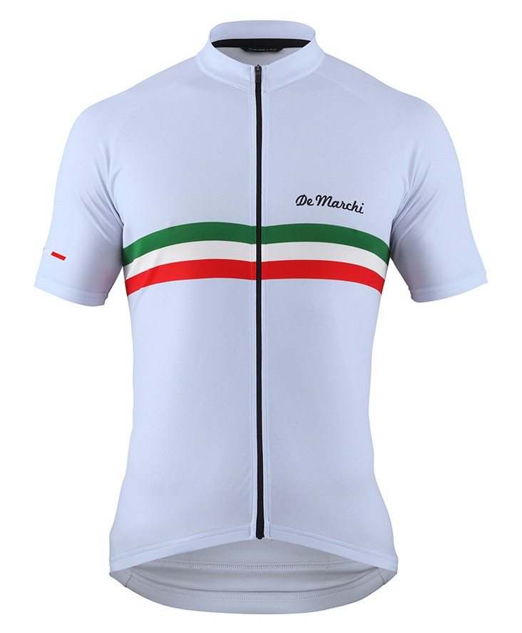 2016 De Marchi PT Italy Flag White Cycling Jersey a84d6a513
