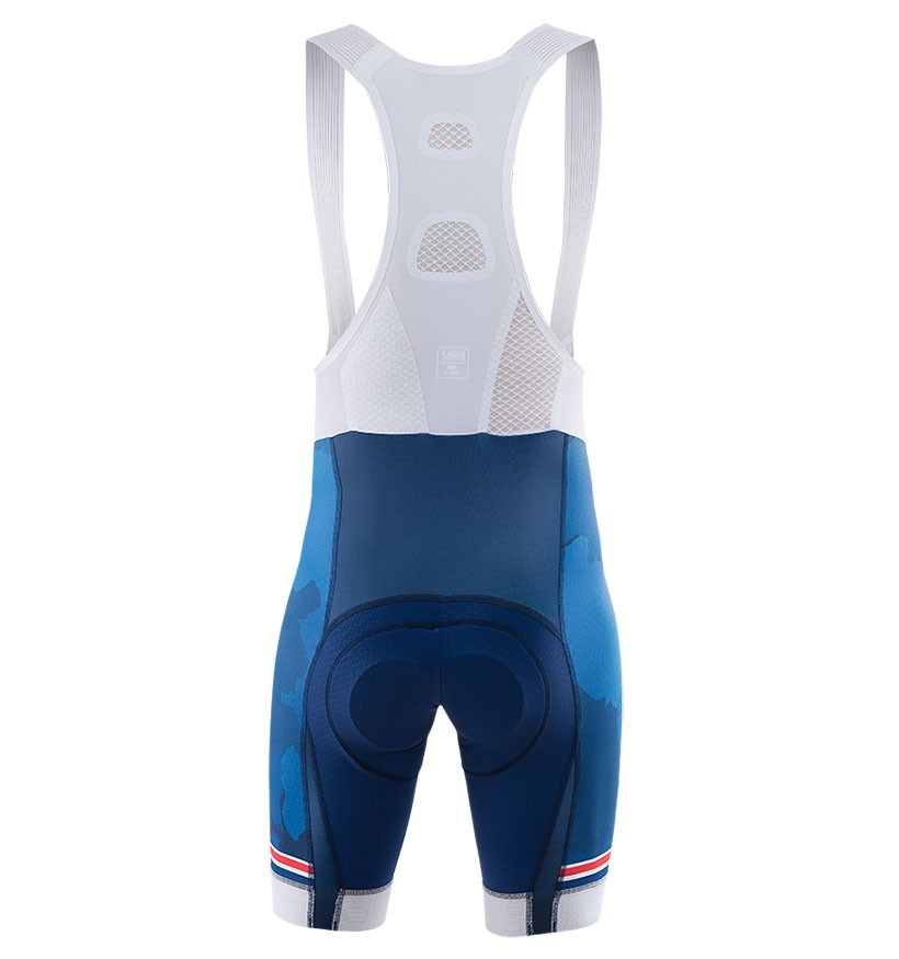 2017 Kalas HSBC GB Dark Blue Cycling Jersey And Bib Shorts Set 04f3235ef