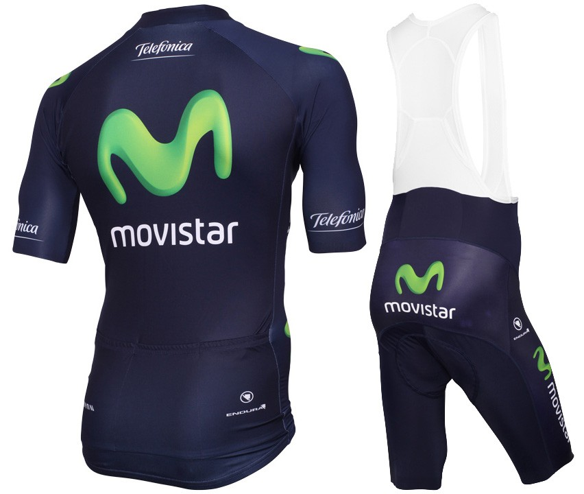 2015 Movistar Team Cycling Jersey And Bib Shorts 31a21c1a8