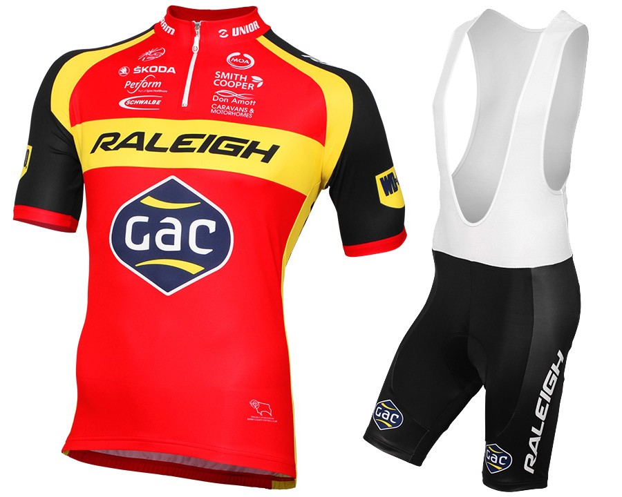 7dfcd881e 2015 Team Raleigh Cycling Jersey And Bib Shorts Set
