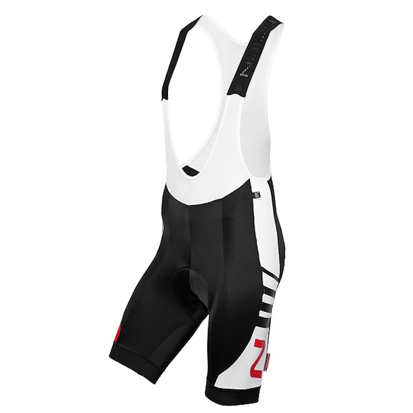 2015 Nalini Tescio Black-White Cycling Bib Shorts ceaea8cc3