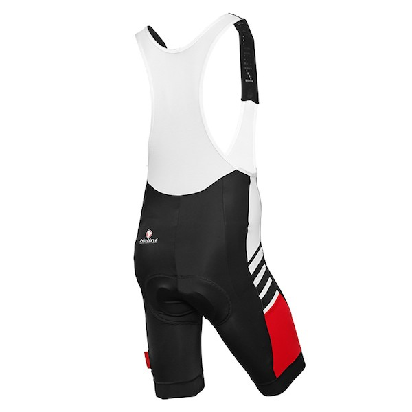2015 Nalini Tescio Black-Red Cycling Jersey And Bib Shorts 8a0764a13