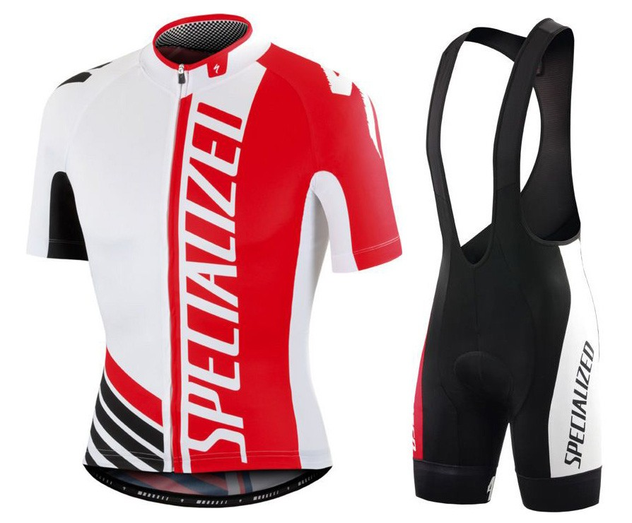 a00a3e2c9 2016 SPED Pro Team SZK White-Red Cycling Jersey And Bib Shorts Set