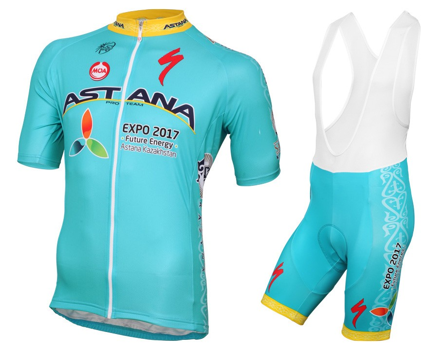Good quality and cheap of team Astana cycling jersey on cobocycling.com d22fcb212