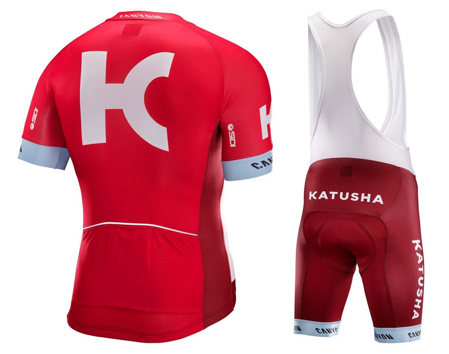 f9fd355c2 2016 Team Katusha Cycling Jersey And Bib Shorts