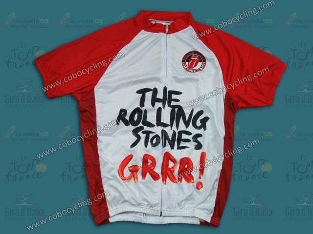 2013 The Rolling Stones Cycling Jersey And Bib Shorts