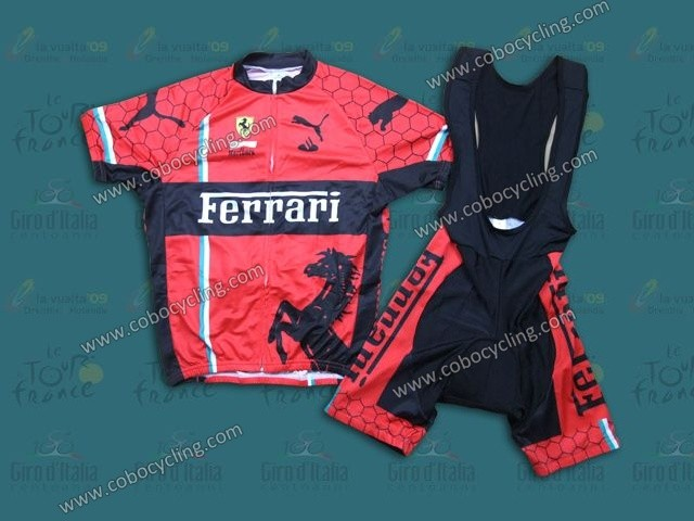 Good quality and cheap of team Ferrari cycling jersey on cobocycling.com 46256cb82
