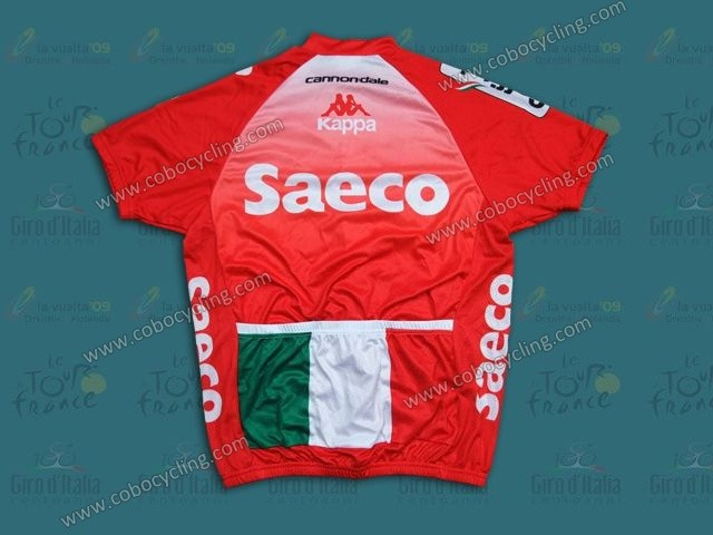 2d7dba876 2014 Team Saeco Red Cycling Jersey