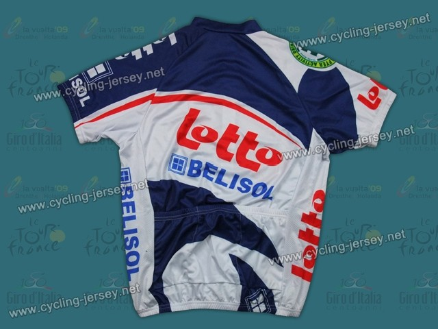 2012 Lotto Belisol Team Cycling Jersey and Bib Shorts Set