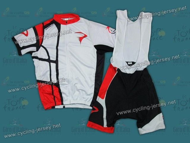 520deec8c 2012 Pinarello White And Red Cycling Jersey and Bib Shorts Set