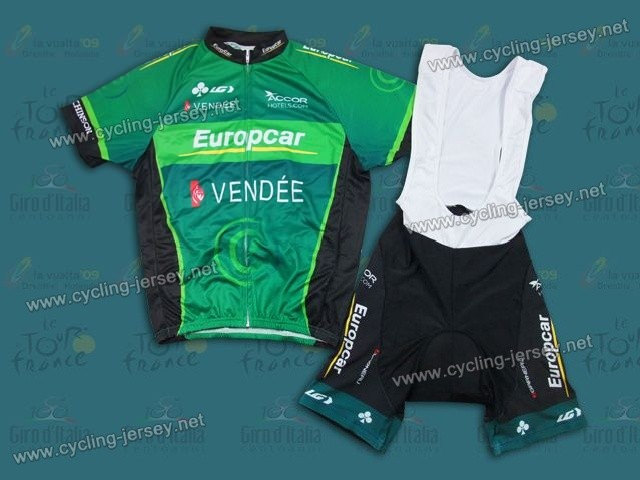 Good Quality And Cheap Of Team Europcar Cycling Jersey On