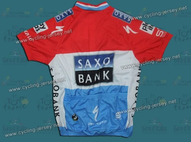 2010 Saxo Bank Luxembourg Champion Cycling Jersey f329adf5e
