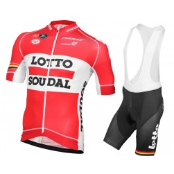 2015 Lotto Soudal Cycling Jersey And Bib Shorts Set