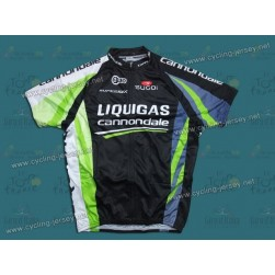 2011 Liquigas Cannondale Black Champion Cycling Jersey