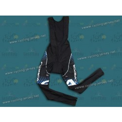 2011 Orbea Black and Blue Dot Thermal Cycling Bib Pants