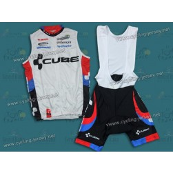 2011 Cube Cycling Vest and Bib Shorts Set