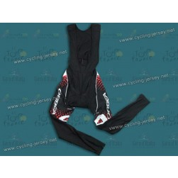 2011 Orbea Black With Red Dot Thermal Cycling Bib Pants