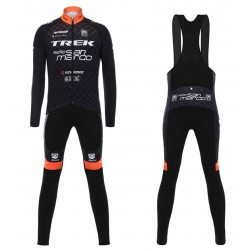2017 Trek Selle San Marco Long Sleeve Cycling Jersey And Bib Pants Set