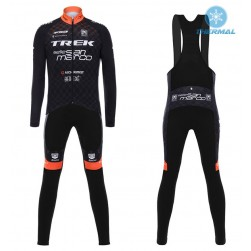 2017 Trek Selle San Marco Thermal Cycling Jersey And Bib Pants Set
