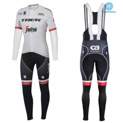 2017 Trek Segafredo Tour de France Thermal Cycling Jersey And Bib Pants Set
