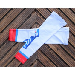 2017 Team FDJ White Cycling Arm Warmer