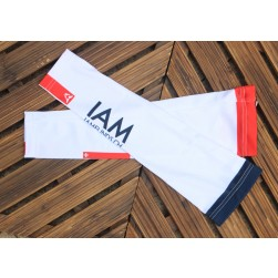 2017 IAM White Cycling Arm Warmer