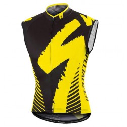 2016 SPED Team LS White-Yellow Cycle Vest